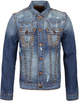 True Religion Jimmy Destroyed Super T Denim Jacket