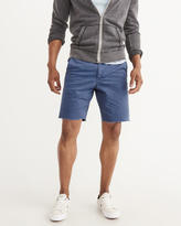 Abercrombie & Fitch Flat-Front Cutoff Shorts