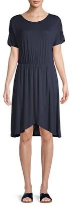 Vero Moda Donna Short-Sleeve Jersey Dress