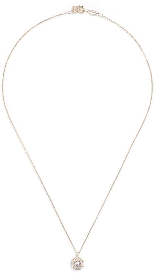 Monique Péan 'Atelier' diamond 18k white gold pendant necklace