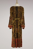 Etro Leopard long dress