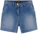 Dolce & Gabbana Jean shorts with fancy patches