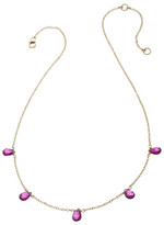 Heather Hawkins 5 Tiny Gemstone Necklace - Multiple Colors