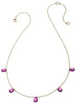 Heather Hawkins 5 Tiny Gemstone Necklace - Multiple Colors