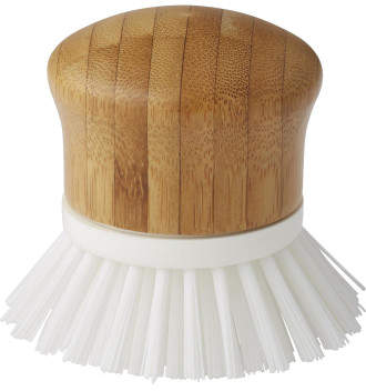 Cleansmart Earth Bamboo Round Dish Brush