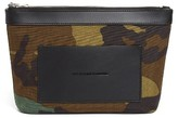 Alexander Wang Small Camo Canvas Pouch - Green