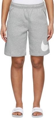 Nike Grey Sportswear Club Shorts