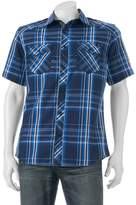 Rock & Republic Big & Tall Classic-Fit Plaid Button-Down Shirt