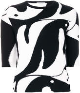 Thom Browne penguin intarsia jumper
