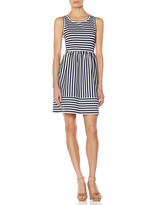 The Limited OBR Striped Ponte Dress