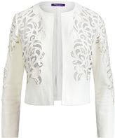 Ralph Lauren Eleanora Leather Jacket
