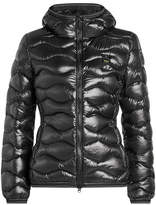 Blauer Quilted Down Jacket with Hood