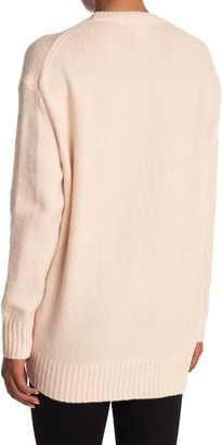 Workshop Crew Neck High/Low Tunic Sweater