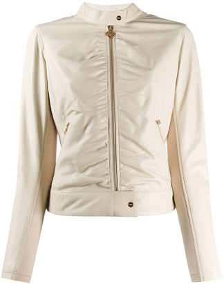 Liu Jo fitted leather jacket