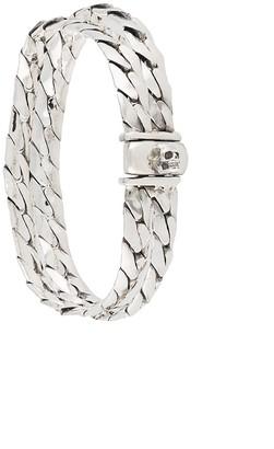 Emanuele Bicocchi Herringbone Double Chain Bracelet