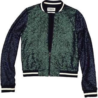 Essentiel Antwerp Green Glitter Jackets