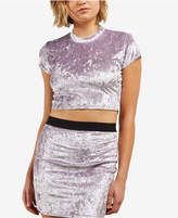 Volcom Juniors' Velvet Crop Top