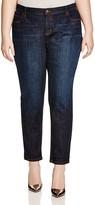 Eileen Fisher Plus Boyfriend Jeans in Deep Indigo