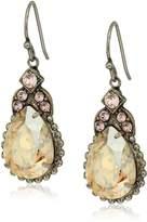 Sorrelli Satin Blush Decorative Deco Drop Earrings