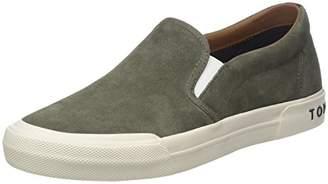 Tommy Hilfiger Men's Heritage Suede Slip On Sneaker Low-Top