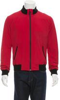 Gucci Rib Knit-Trimmed Lightweight Jacket