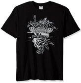 Crooks & Castles Mens Galactic Medusa Short-Sleeve Shirt