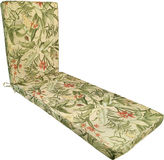 Waverly Wailea Coast Chaise Lounge Outdoor Cushion