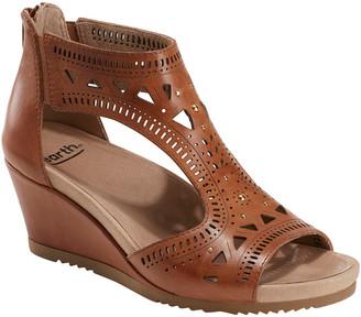 Earth Attalea Leather Wedge Sandal