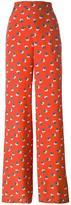 Etro printed track pants - women - Silk - 40