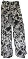 R Kon Women's Ladies Printed Wide Leg Palazzo Trousers Pant's