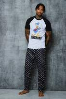 boohoo Disney Donald Duck Pyjama Set
