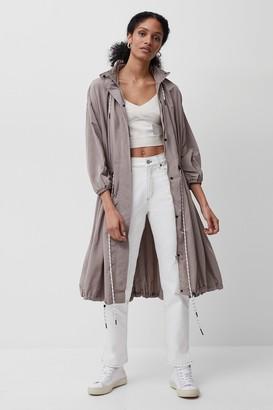 French Connenction Aroni Nylon Hooded Coat