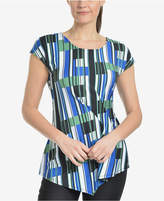 NY Collection Asymmetrical T-Shirt