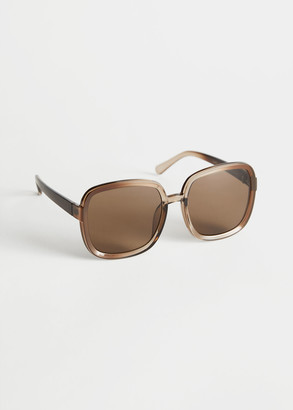 And other stories Square Frame Sunglasses