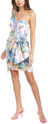 Flor Et. Al Flor Et.Al Buckle Mini Dress