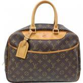 Louis Vuitton Deauville cloth satchel