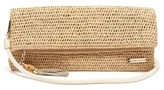 Heidi Klein Grace Bay Super Mini Raffia Clutch Bag - Womens - Beige