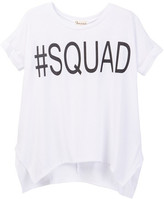 Ten Sixty Sherman #Squad Short Sleeved Tee (Big Girls)