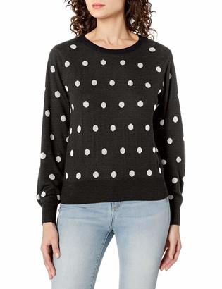 Bailey 44 Women's Long Sleeve Dot Print Sweater