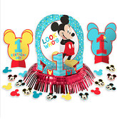 Disney Mickey Mouse 1st Birthday Table Decorating Kit