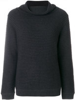 Hemisphere roll-neck sweater