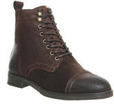 Office Cage Brogue Boots