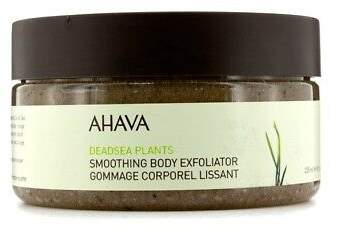 Ahava NEW Deadsea Plants Smoothing Body Exfoliator 235ml Womens Skin Care
