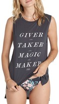 Billabong Women's Giver Taker Magic Maker Graphic Tank