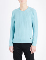 Burberry Cable-knit cashmere jumper