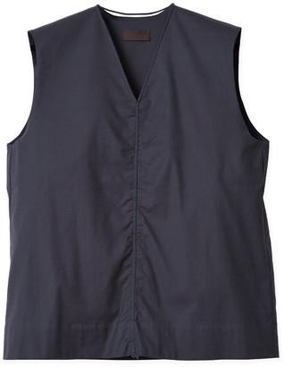 Oyuna Jasia Fossil Grey Sleeveless Cotton Top