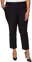 Vince Camuto Specialty Size - Plus Size Front Zip Ankle Pants Women's Casual Pants
