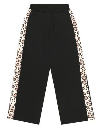 MonnaLisa Stretch-cotton trackpants