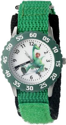Disney Kids' W002205 Spot and Arlo Analog Display Analog Quartz Green Watch