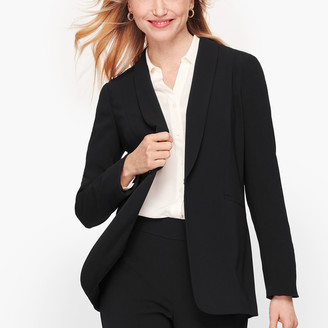 Talbots Easy Travel Collection - Long Shawl-Collar Jacket